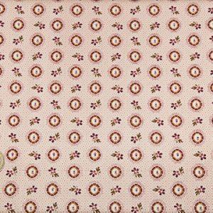 tissu-andover-motifs-cercles-feuilles-lemillepatch