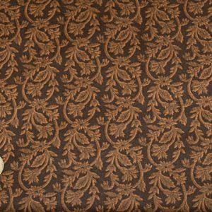 tissu-makover-fleuri-marron-noir-lemillepatch