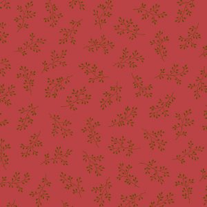 tissu andover 8511-R rouge lemillepatch