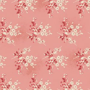 tissu andover 8824-E rose lemillepatch