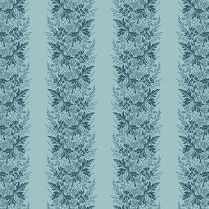 tissu andover 8827-B bleu lemillepatch