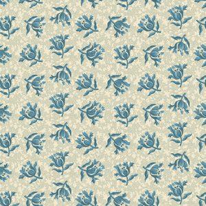 tissu andover 8829-L bleu lemillepatch