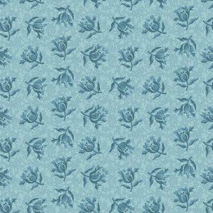 tissu andover 8829-W bleu lemillepatch