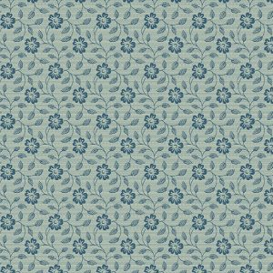 tissu andover 8830-B bleu lemillepatch