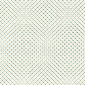 tissu andover 8833-L écru bleu lemillepatch