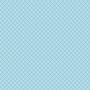 tissu andover 8833-W bleu lemillepatch