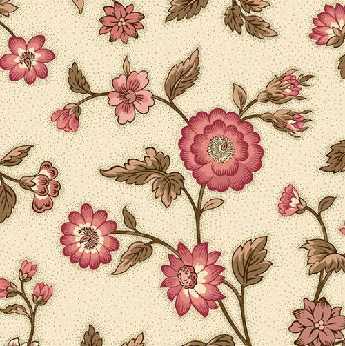 tissu-andover-fleur-rose-lemillpatch-