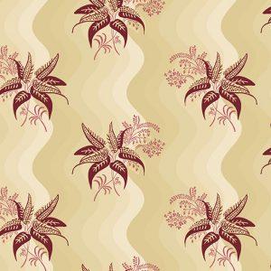 tissu andover 8918 l fleur rose beige lemillpatch
