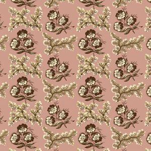 tissu andover 8920-E rose lemillepatch