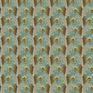 tissu andover 8923-LT bleu lemillepatch