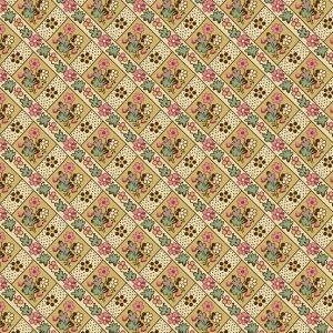 tissu andover 8924-L jaune lemillepatch
