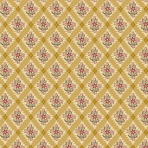 tissu andover 8926-LY jaune lemillepatch