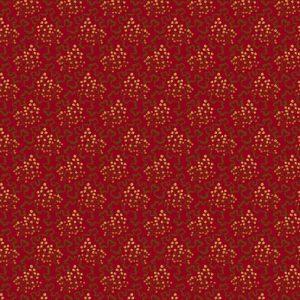 tissu andover 8619-R bordeau lemillepatch