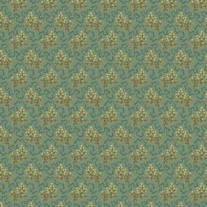 tissu andover 8619-T bleu lemillepatch