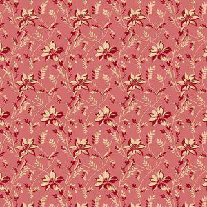 tissu andover 8753-E rose lemillepatch