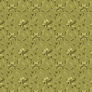 tissu andover 8753-G vert lemillepatch