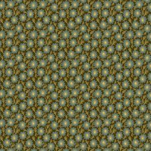 tissu andover 8754-K bleu lemillepatch