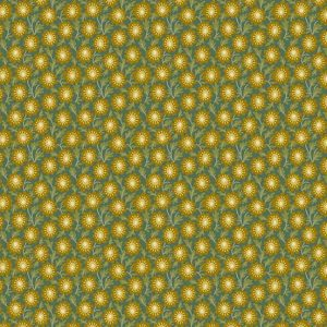 tissu andover 8754-T vert lemillepatch