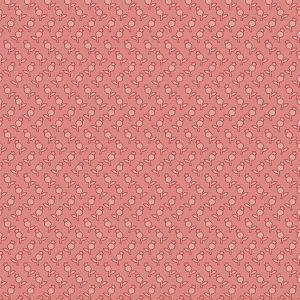 tissu andover 8757-E rose lemillepatch