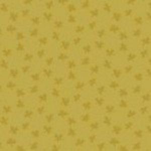 tissu andover 8700 YG jaune lemillepatch