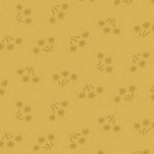 tissu andover 8701 Y jaune lemillepatch