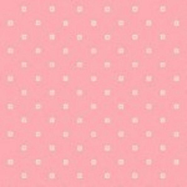 tissu andover 8702 R rose lemillepatch