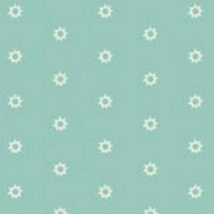 tissu andover 8703 T bleu lemillepatch