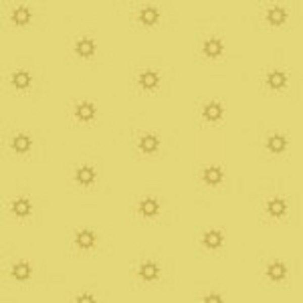 tissu andover 8703 YG jaune lemillepatch
