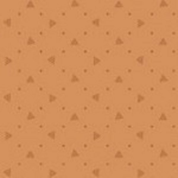 tissu andover 8704 O orange lemillepatch