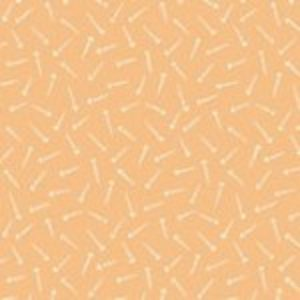 tissu andover 8705 O orange lemillepatch