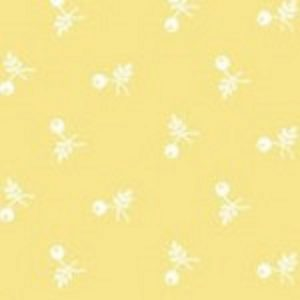 tissu andover 8707 YG jaune lemillepatch