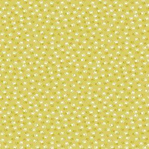 tissu andover 1919 G jaune lemillepatch