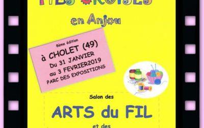 Le Mille Patch Expose au Salon des Arts du Fil de CHOLET
