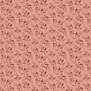 tissu andover A-8991-LE rose lemillepatch