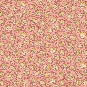 tissu andover A-8993-LE rose lemillepatch