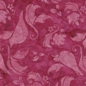 Tissu Hoffman 3300-001 rose lemillepatch