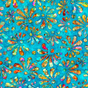 Tissu QT Fabrics – 27097 B bleu lemillepatch