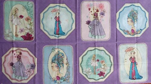 Tissu QT Fabrics – Santoro 26941 V