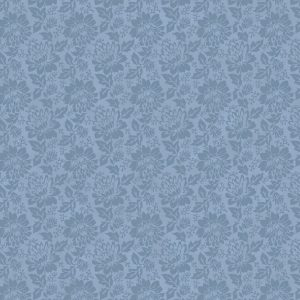 Tissu Stof Fabrics – 4500 972 bleu lemillepatch