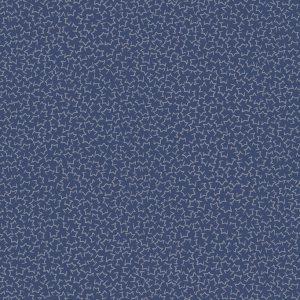 Tissu Stof Fabrics – 4515 223 bleu lemillepatch