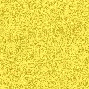 Tissu Stof Fabrics – 4515 235 jaune lemillepatch