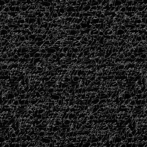 Tissu Stof Fabrics – 4515 276 noir lemillepatch