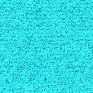 Tissu Stof Fabrics – 4515 278 bleu lemillepatch