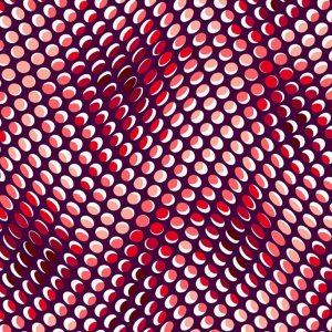 Tissu Stof Fabrics – 4515 284 rose lemillepatch