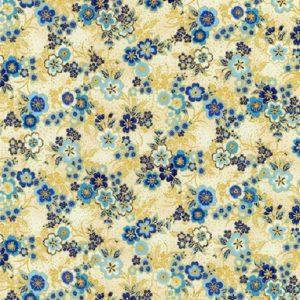 Tissu KAUFMAN – 18625 62 Bleu lemillepatch