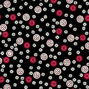 Tissu QT Fabrics – 27239 J Noir lemillepatch