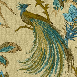 Tissu Andover – 9124 B bleu lemillepatch