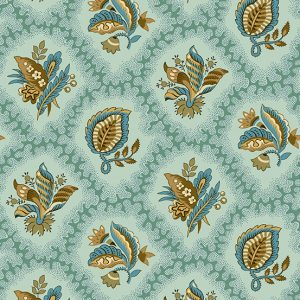 Tissu Andover – 9125 B bleu lemillepatch