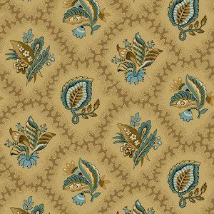 Tissu Andover – 9125 BN marron lemillepatch