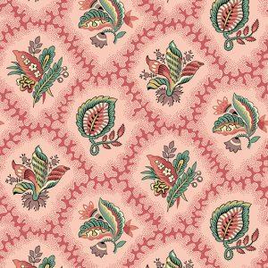 Tissu Andover – 9125 R rose lemillepatch
